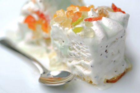 Photo pour Dessert italien traditionnel - image libre de droit