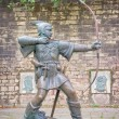 Statue of the famous hero...