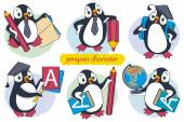 penguin character set