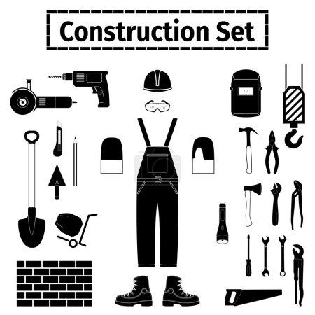 Construstion icons set