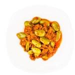 Sambal tumis petai, a popular traditional dish in ...