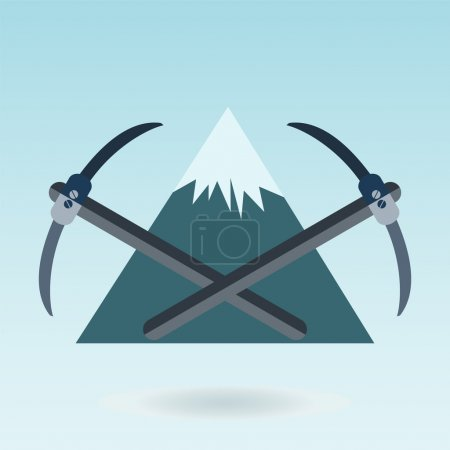 pickaxe mountain, Mountain themed outdoors emblem