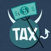 debt ball and chain Businessman with debt burden tax ball devi