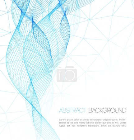 Vector Abstract technology background. Template  business brochure design