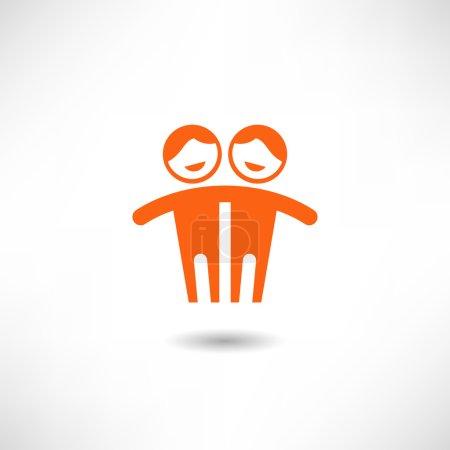 Couple Embrace icon
