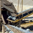 The mining industry. manufacturing process - stock...