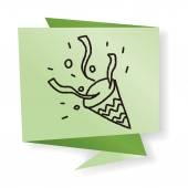 Vector illustration hand drawing doodle cartoon