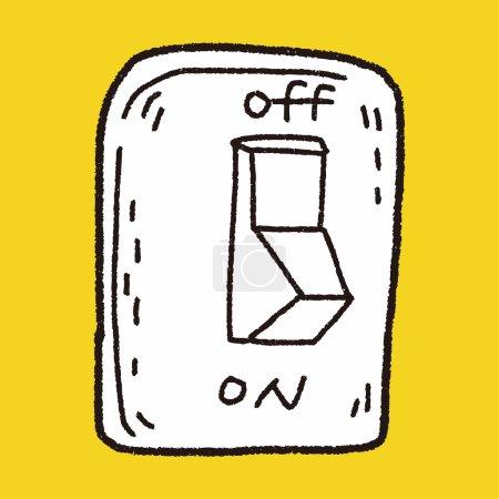 Environmental protection concept  Saving energy, turning off lig