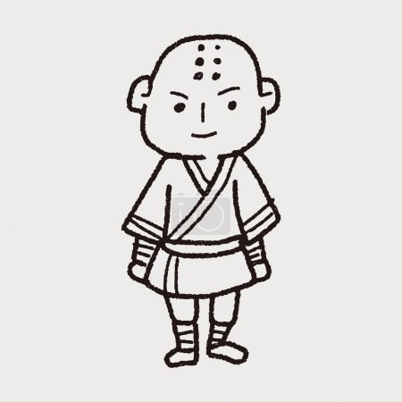 Shaolin doodle...