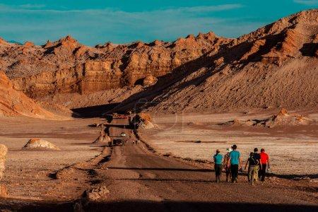Valle de la Luna Desierto de Atacama en Chile