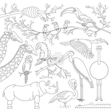 African animals sim 4