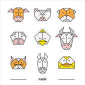 Animals farm origami 11