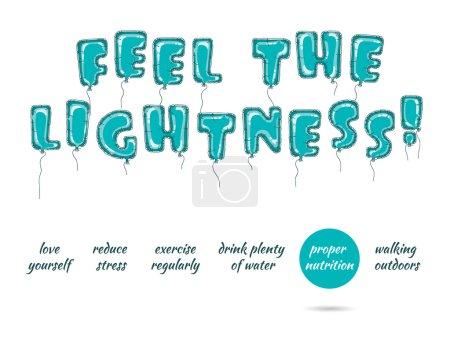 Feel the lightness 1