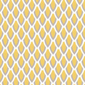 Mustard yellow and taupe vector geometric seamless pattern