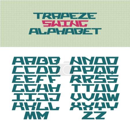 Corner tech style font.