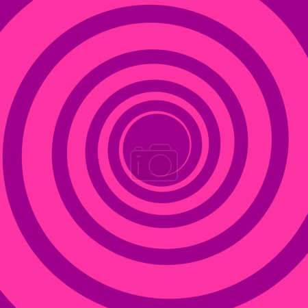 Illustration for Vivid colors spiral background. Candy sweets theme. - Royalty Free Image