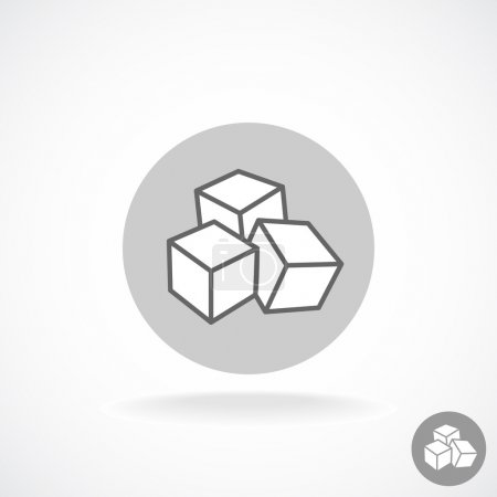 Sugar cubes logo