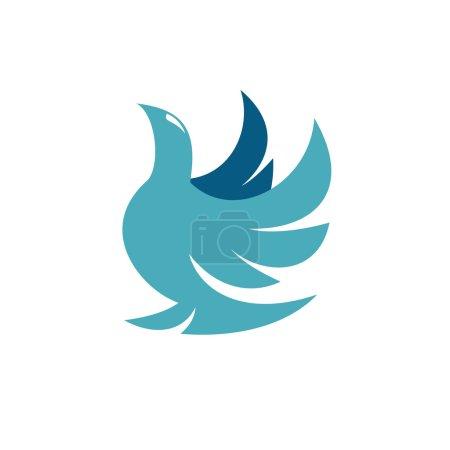 Dove logo on white