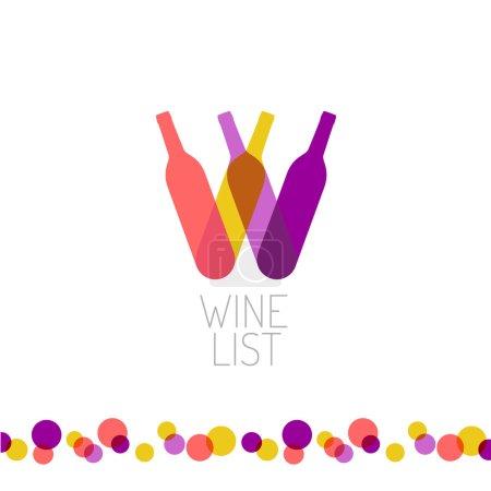 Wine list restaurant