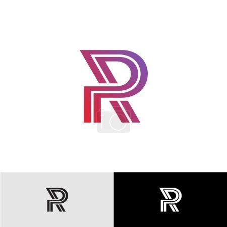 Lettre R logo