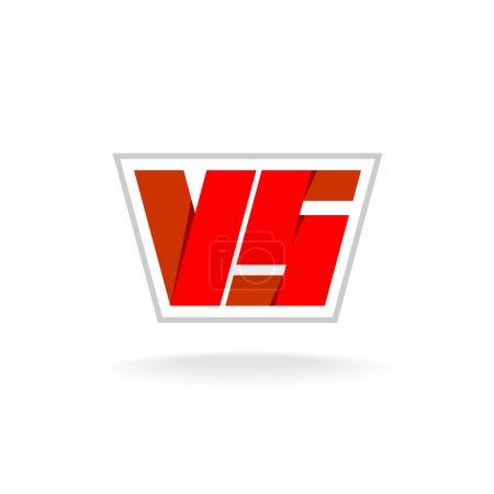 Versus letters logo