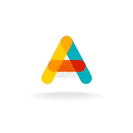 transparent colorful logo