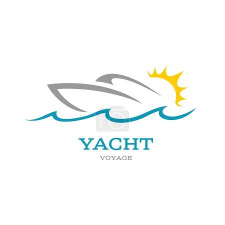 Yacht club logo.