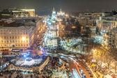 Vánoční jarmark v Kyjevě, Ukrajina