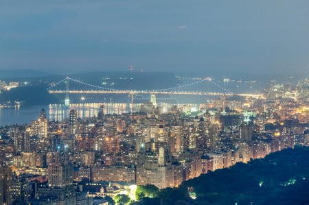 Manhattan Upper West Side from the Top of the Rock