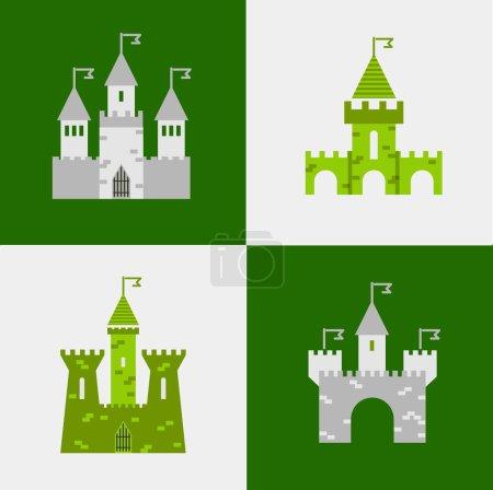 Castle tower set