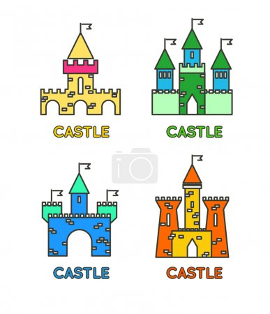 Castle tower set