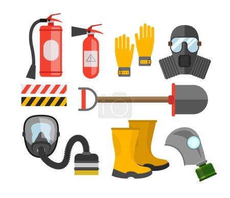 Safety equipment  set