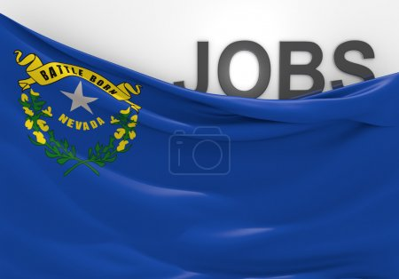 Nevada jobs and employment opportunities concept