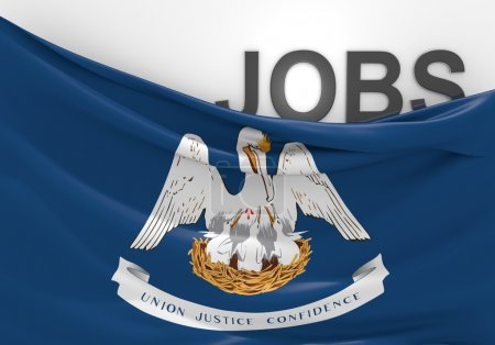 Louisiana jobs and employment opportunities concept