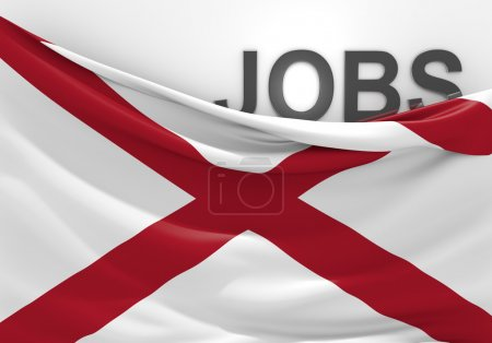Alabama jobs and employment opportunities concept