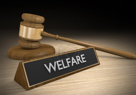 Welfare social support laws and government benefits