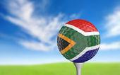 Golfový míček s Jihoafrickou barvy na tričko