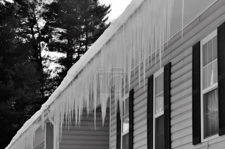 Freezing ice hazard from extreme winter storm conditions