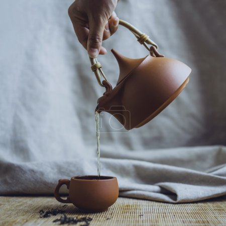 Chinese tea ceremony concept
