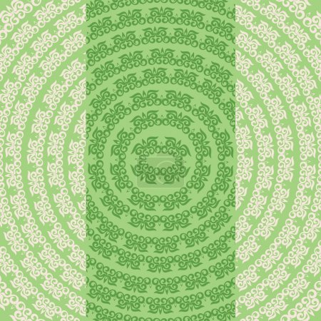 set Asian, Oriental, Plant patterned framework