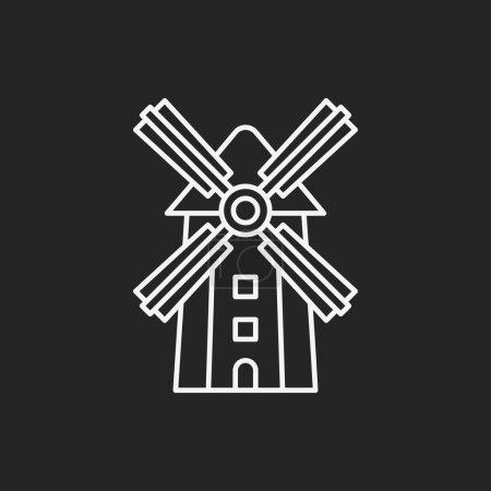 barn line icon