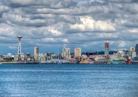 Seattle Cityscape HDR