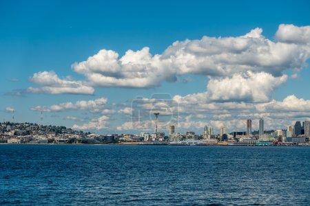 Sunny Seattle Skyline 2