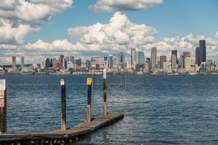 Sunny Seattle Skyline 4