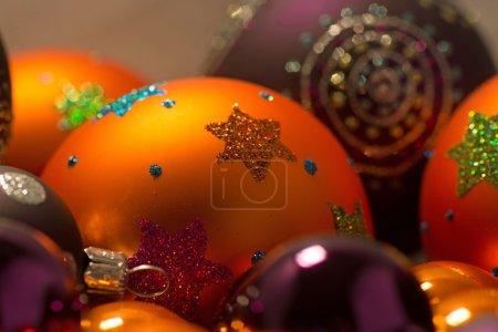 Close-up of Christmas Balls