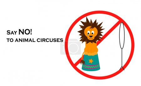 Say NO! to animal circuses