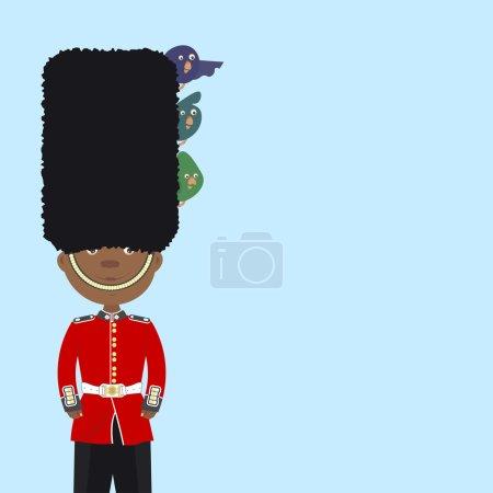 British soldiers in dress uniform