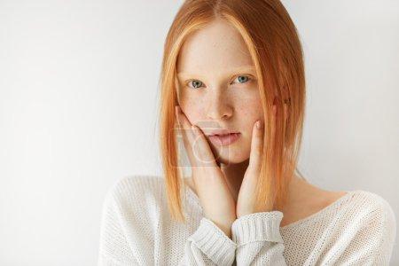 cute redhead teenage