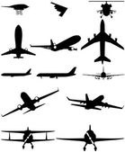 icons logos airplane helicopter