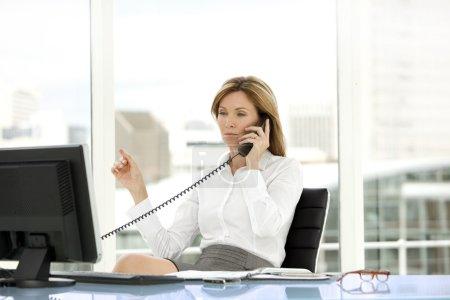 Business executive woman